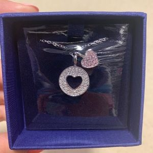 swarovski crystal necklace, NEVER OPENED